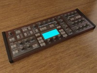 synthesizer 3d max