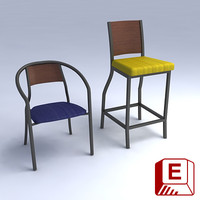 ovation chair stool 3ds