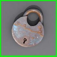 lock 3d model