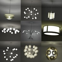 3d model lights ceiling