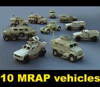 3d mrap vehicles caiman buffalo