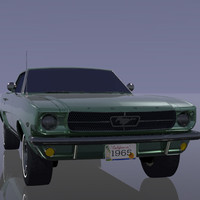 3ds max mustang engine