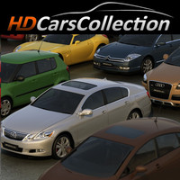 3d hdcarscollection vol 2 car