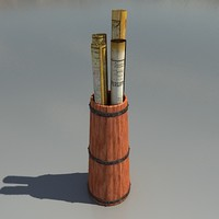 Butter Churn with maps