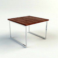 contemporary end table 3d model