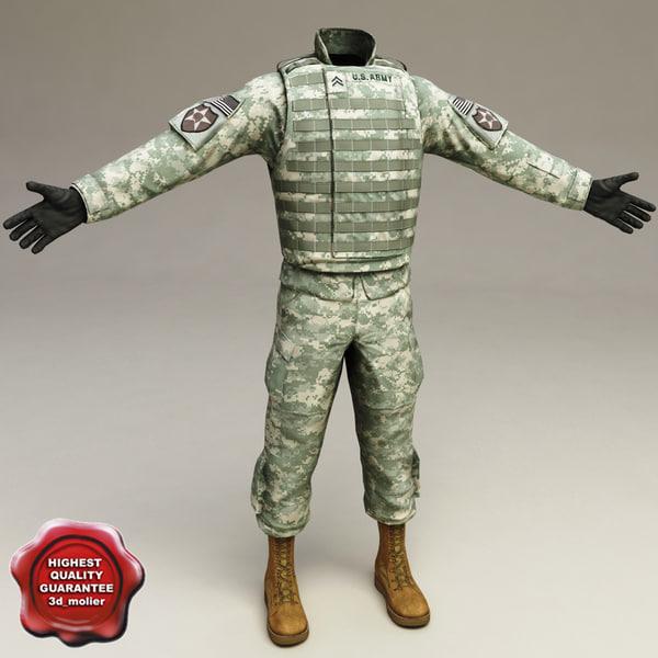 maya soldier clothes v3