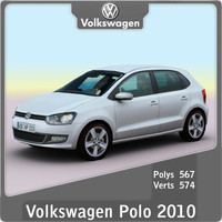 3ds max 2010 volkswagen polo