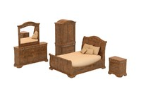 Bedroom Set - 09 - VINTAGE