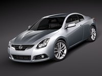 3ds max nissan altima coupe 2010