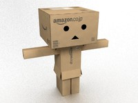 danbo - character from cardboard boxes