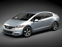 honda fcx clarity car 3d max