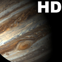 jupiter incredible hd planets 3d model