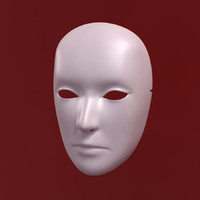 3d max mask theater masque