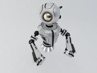 3d 3ds robot materials