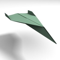 lwo paper airplane