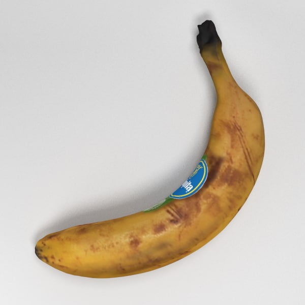 banana 3d 3ds - Banana... by 3D_Monger