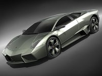lamborghini reventon sport car 3d model