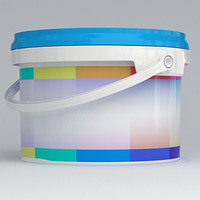 3d plastic color model