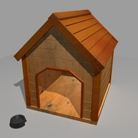 doghouse dog house 3d model