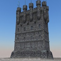 Gothic Medieval Castle 2