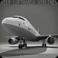 Airbus A319 Lufthansa