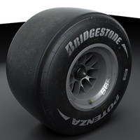 Formula 1 Wheel and Tire
