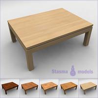 3d 3ds tea table