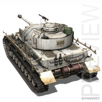 SD.KFZ 161 PzKpfw IV - Panzer 4 - Winterversion