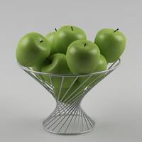 3d model apple