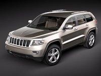 3d jeep grand cherokee 2010