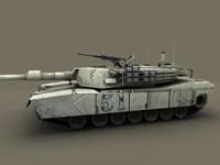 3ds max m1 abram tank