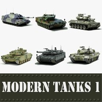 Modern Tanks collection