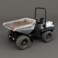 3d mini dumper tractor