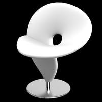 chair tonon question 3d model