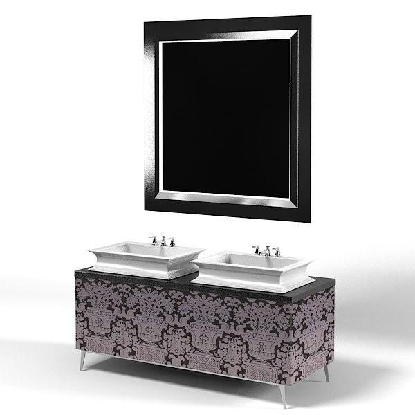 oasis modern art deco luxury bathroom furniture contemporary vanity 2