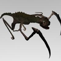3d monster fantasy creature