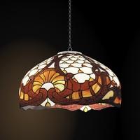 3d model tiffani chandelier pendant