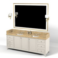 tradiditonal modern classic luxury bathroom furniture contemporary 2 two lavatory sink mirror vanity wash basin cabinet wash basin cabinet washbasin