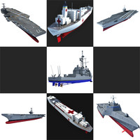 3ds max navy ship