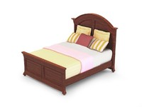 01. CANYON CREEK ARCHED PANEL BED