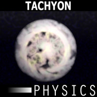 3d model of tachyon particle
