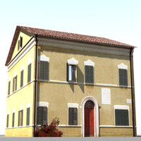 obj tuscan house