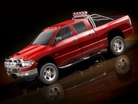 dodge ram 2005 offroad 3d model
