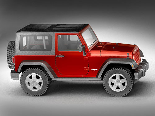 maya jeep wrangler rubicon - Jeep Wrangler Rubicon... by squir