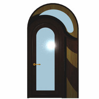 3d door arched