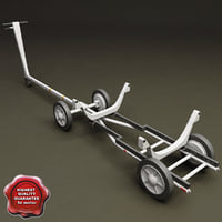 bomb cart v1 3d model