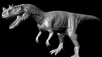 3d model ceratosaurus