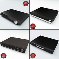 3d model dvd players