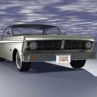 falcon sprint 3d model