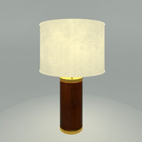 table lamp materials 3d model